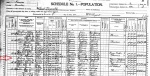 1900 US Census Hosea