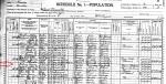 1900 US Census Hosea