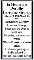 Lorraine Memoriam 2014 Pre