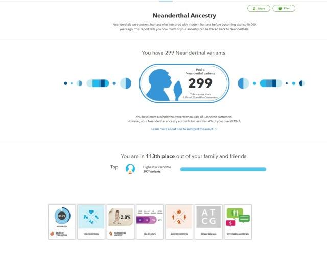 Ancient DNA 23andMe